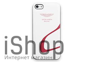 13.Чехол для iPhone 5 AstonMartin (бело-красный)