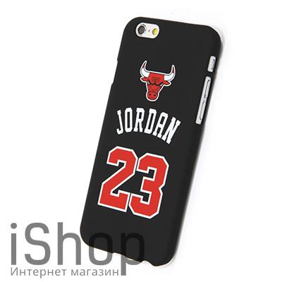 16.Чехол для iPhone 5-5S-SE Jordan 23 (черный)