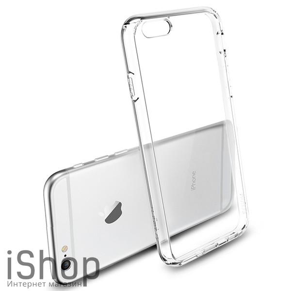 2.Силиконовый чехол для iPhone 6-6s (прозрачный)