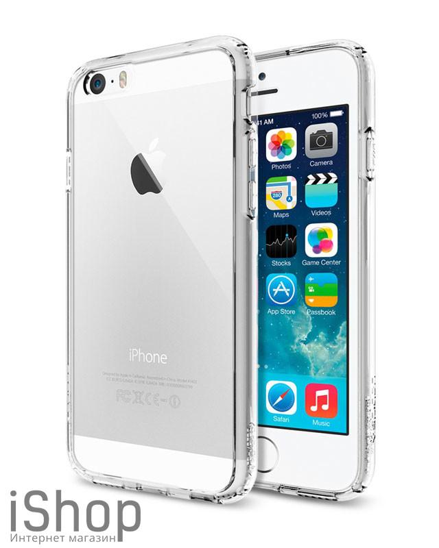24.Силиконовый чехол для iPhone 6-6s (прозрачный)