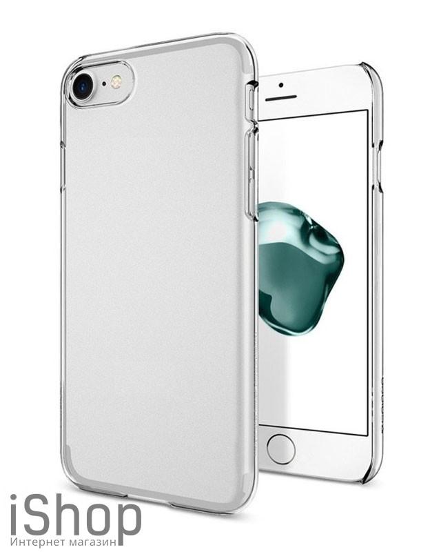 26.Силиконовый чехол для iPhone 7-8 (прозрачный)