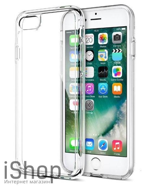 27.Силиконовый чехол для iPhone 7 Plus-8 Plus (прозрачный)
