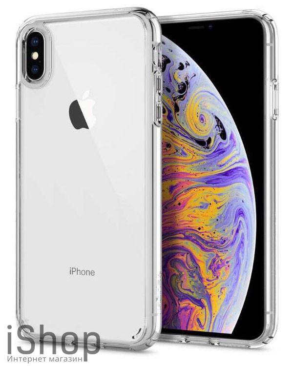 29.Силиконовый чехол для iPhone XS Max (прозрачный)