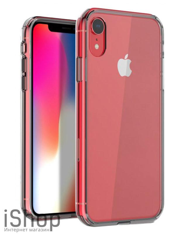 30.Силиконовый чехол для iPhone XR (прозрачный)
