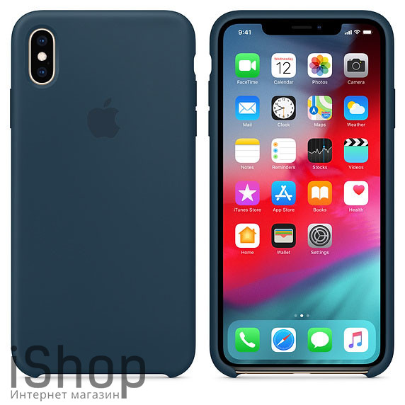 40.Силиконовый-чехол-для-iPhone-XS-Max-Тихий-океан