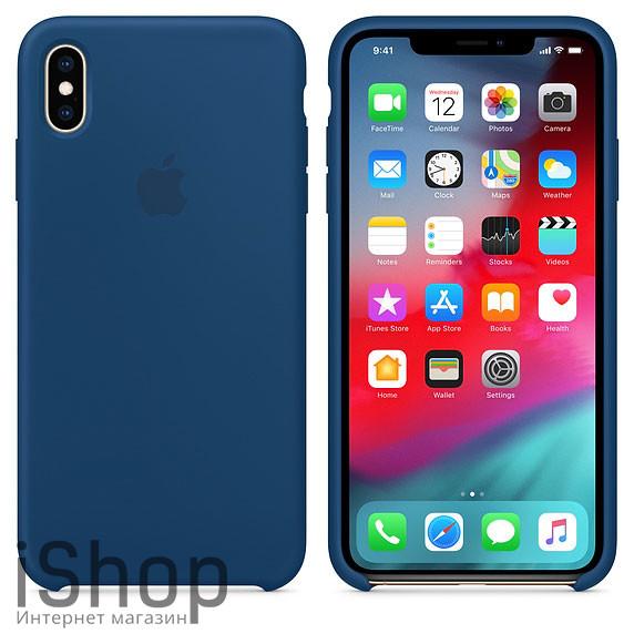 43.Силиконовый-чехол-для-iPhone-XS-Max-Морской-горизонт