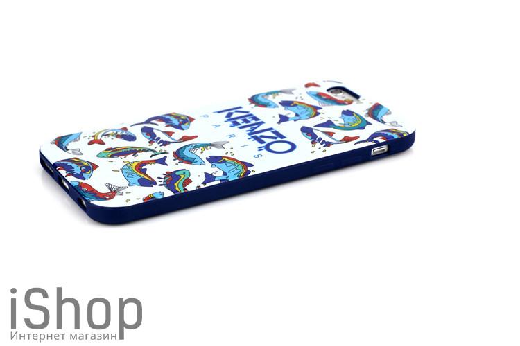 7.Чехол для iPhone 6-6s kenzo fish