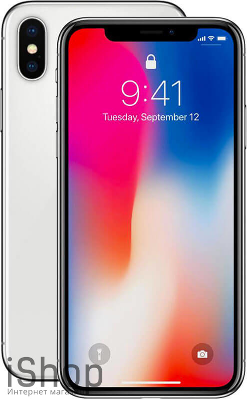 iPhone-X-Silver-iShop