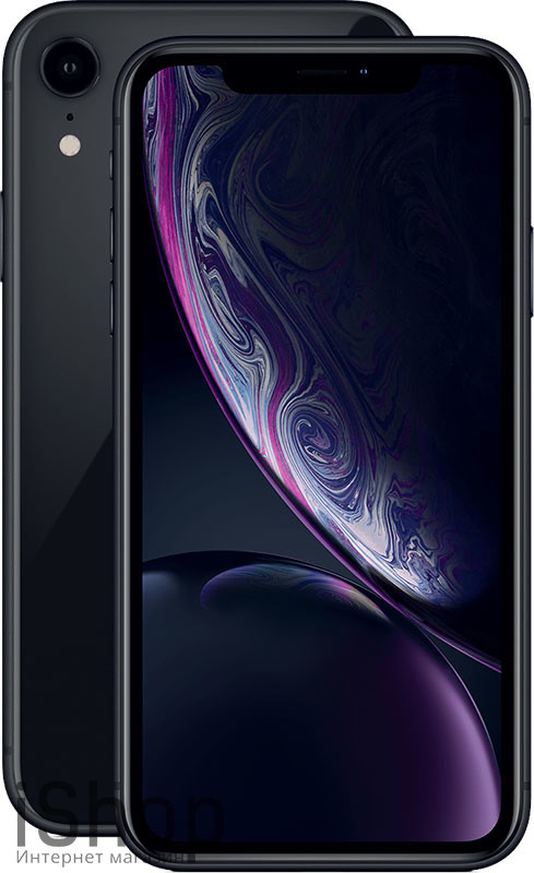 iPhone-XR-Black-iShop