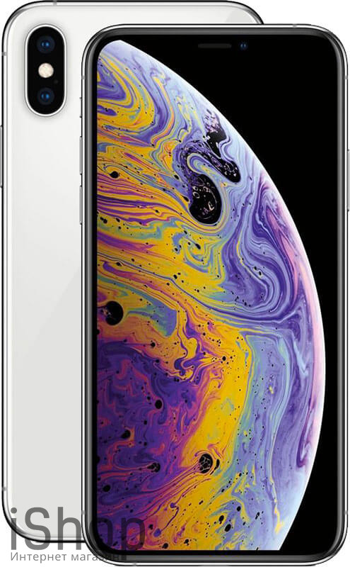 iPhone-XS-Max-Silver-iShop