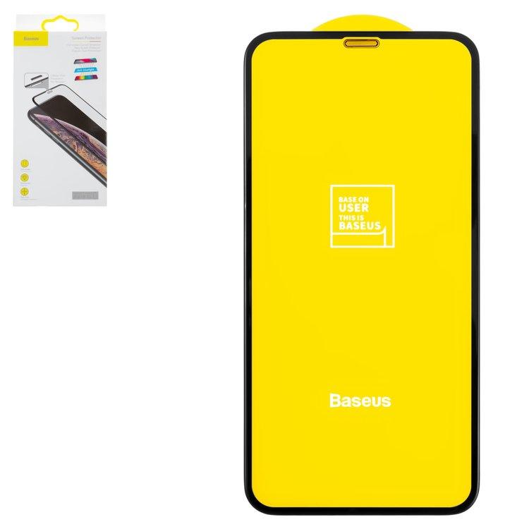 Защитное стекло 5D Baseus for iPhone X Anti-Bluelight с сеточкой